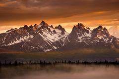 """Devils Horns""  Alaskan Range ~ Denali State Park, Alaska ~ Nikon D800E (Dan Ballard Photography) Tags: pictures alaska landscape photography gallery image grand pic best range alaskan denalistatepark danballard tokosha"
