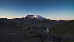 Mount St. Helens Solstice - 5:26am (Don Jensen) Tags: summer sun mountain nature saint st sunrise canon landscape tokina mount solstice 7d helens rise 1116 colvano