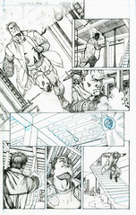Splitface Legend - Page 10 pencils by Glenn Brown. (Loathsome Entertainment) Tags: chicago comics artist comicbook splitface loathsome glennbrown splitfacelegend loathsomecomics