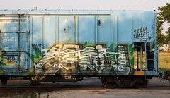 ETC (quiet-silence) Tags: railroad art train graffiti railcar etc crow graff capped freight reefer dissed diss fr8 asic coldtrain nrdx nrdx95105 deadcrowaward
