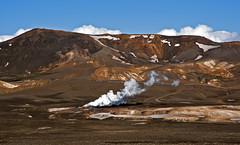 Chocolate mountain with touches of cream. Iceland. (zanzibarcordoba) Tags: iceland islandia