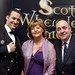 Mark Andrews, Fiona Hyslop Alex Salmond at the Drinks Reception at the Surgeon's Hall