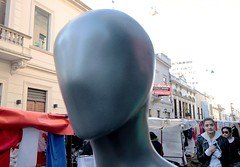 Anonymous (carlos_ar2000) Tags: street people color colour argentina calle buenosaires gente dummy santelmo maniqui