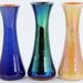 "1031. (3) Imperial ""Freehand"" Tapered Form Vases"