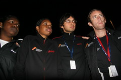 """Pre-race pep talk • <a style=""""font-size:0.8em;"""" href=""""https://www.flickr.com/photos/64883702@N04/7499375712/"""" target=""""_blank"""">View on Flickr</a>"""
