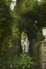 Lamorran Gardens, lovers entwined (Keith.Smith2011) Tags: statue palms cornwall ferns exoticgarden stjustinroseland falmouthbay lamorrangardens gardensofengland exoticgardensincornwall