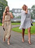 Jenny Lee Masterson and Kristi Kuudisiim The wedding of model Aoife Cogan and rugby star Gordon D'Arcy, held at St. Macartan's Cathedral Monaghan, Ireland
