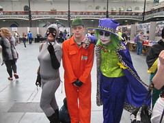 IMG_7458 (the_gonz) Tags: sexy green london comics dc cool purple geek cosplay convention batman olympia joker dccomics gotham facepaint fancydress con gothamcity londonfilmandcomiccon thejoker olypmia lfcc