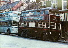 omnibuses 3176 (Andy Reeve-Smith) Tags: roe walsall trolleybus gct wmpte westmidlandspte cleethorpescorporation grimsbycorporation aec663t crossleytdd423
