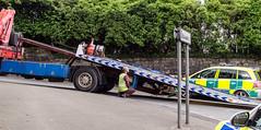 Hillcroft Rescue (Mark Hobbs@Chepstow) Tags: volvo nikon accident ambulance service siren chepstow bluelight heddlu monmouthshire bulwark markhobbs gwentpolice gwas nikond7000rescueemergencydslrrawtraffic policewelsh