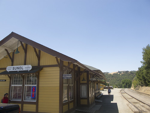 Sunol train station
