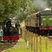 Two Green Tank Engines