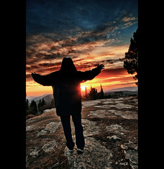 The Conjurer of the light and the concepts (EddyB) Tags: sunset sky espaa silhouette atardecer spain nikon europa europe catalonia catalunya silueta catalua tarragona espanya lamussara eddyb d300s labandadelcharco theconjurerofthelightandtheconcepts elmagodelaluzylosconceptos