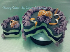 """Funny Cakes"" tortas decorativas, by Funny Amandita (Funny Amandita) Tags: bolofalso decoraçãodefestas bolodefeltro docesdefeltro tortasdefeltro tortasdecorativas"