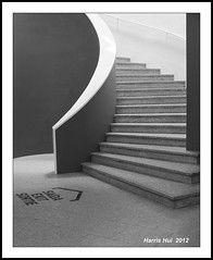 Museum Is A Good Rest Stop - Centro Cultural de Belém (CCB) Lisbon X0703e (Harris Hui (in search of light)) Tags: travel light shadow vacation bw canada portugal monochrome lines vancouver stairs composition mono blackwhite europe fuji bc lisboa lisbon interior richmond simplicity fujifilm digitalbw minimalism simple pointshoot ccb belém travelphotography artsmuseum vacationtravel centroculturaldebelém digitalcompact belémculturalcentre harrishui vancouverdslrshooter beautyinmundane fujix10 museumisagoodreststop takearestaftersightseeing
