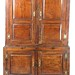 65. Antique English Oak Linen Press