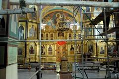 041910-385F (kzzzkc) Tags: church nikon artist russia scaffold d200 stmichaels orthodox blacksea sancturary sochi 2010cruise