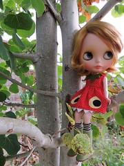 Blythe a day July27- Strawberry