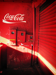 Coca-Cola bar (Carlos Ebert) Tags: red bar colorado vermelho palmas tocantins carmim