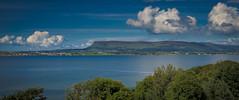 135-365 Ben (Ciara Drennan) Tags: county blue ireland sea sky mountains water clouds canon landscape scenery inlet 365 yeats sligo benbulben 365project canon600d