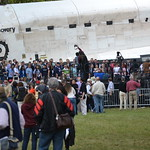 The actual #NASASocial group doing their group photo