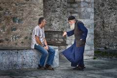 Admonitions (Dimitil) Tags: agionoros saintmountathos mountathos athos people monk monachism greekorthodoxmonachism orthodoxmonachism orthodoxy religion monastery monasteries chalkidiki greece hellas macedonia makedonia cloister