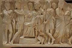 Tipaza (Sylviane Moss) Tags: algeria algrie tipaza tipsa ruins roman unesco marble carving sarcophagus