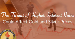 The Threat of Higher Interest Rates Could Affect Gold and Silver Prices