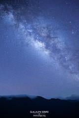 Core (g u i l l a u m e) Tags: hehuanshan taiwan milkyway night stars blue