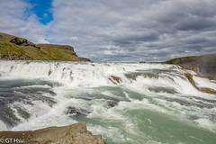 Gullfoss Waterfall @ 2016.7.9 (viwes) Tags: goldenwaterfall gullfosswaterfall iceland world