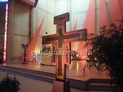 20160504_140628 (coldgazemedia) Tags: france taiz saneetloire burgundy taizcommunity communautdetaiz photobank stockphoto church indoor christianity chapel cross jesus painting
