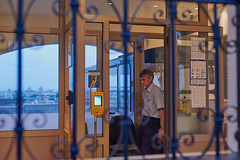 Long hours (ir0ncevic) Tags: zagreb street streetphotography nikon summer nikkor evening blue hour bluehour funicular zet tired architecture hrvatska croatia