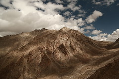 When light plays with mountains... (Rahul Gaywala) Tags: blue cloud julley leh ladakh incredible india himalaya pure bliss blessed kashmir jk himachal mountain indus roadtrip wander travel sky clouds siachin glacier ice snow adventure himalayanlandscape karakoram light shade shadow