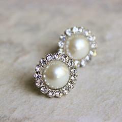 Bridesmaid earrings. http://buff.ly/2bjKfxE #etsymntt #etsy #weddings #brides #engaged #smallbiz (petalperceptions.etsy.com) Tags: etsy smallbiz flowers jewelry