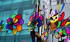 colorful (pandeesh89) Tags: toys air colorfiul strret fair nohonmachi japanese cultural festival fans cycle kids items