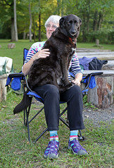 1301 (Jean Arf) Tags: trumansburg ny newyork summer 2016 cayuga lake annie joanne dog