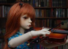 Music (Little little mouse) Tags: dollstown seola7 hazel dt7 bjd dollfie