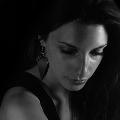 #039 (Marco Djallo) Tags: jewels bw black white gioielli gioiellidiversi model modella fb earrings orecchini pvc