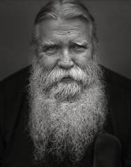 Bearded Man - Chestertown, Maryland (crabsandbeer (Kevin Moore)) Tags: chestertown easternshore maryland people portrait smalltown bw monochrome dof beard face man explored explore
