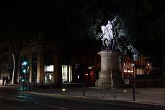 Place Jean D'Arc, Toulouse (sokolskij) Tags: jeanofarc jean darc jeandarc toulouse canon 40mm 40 eos 1d4 eos1dmarkiv 1dmarkiv nightphotogaphy night nuit notte nacht themaidoforlans lapucelle lapucelledorlans lapulzelladorleans ledlights cold led leds coldlight