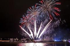 Fireworks World Port Days (photo 4) (R. Engelsman) Tags: wereldhavendagen worldportdays 2016 rotterdam 010 netherlands nederland fireworks vuurwerk canon 650d outdoor night nl show rotjeknor