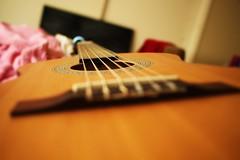 guitar (julietkitz) Tags: instrument guitar warm warmtones