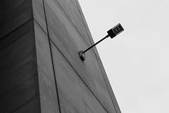 Dystopia (tomdsmith853) Tags: dystopia light architecture modern streetlight building concrete mono