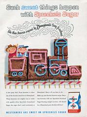 Vacationland, Summer 1960 22 - Spreckels Sugar (Tom Simpson) Tags: vacationland vintage 1960 1960s ad ads advertising vintagead vintageads sugar spreckles