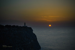 Rise (Oddiseis) Tags: formentera balearicislands spain lamola lighthouse sea mediterranean sun sunrise water clouds shadows light litoral coast cliffs sky rock leicavarioelmarr8020040 leitax 100v10f cape