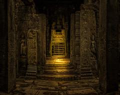 follow the light (Stan Smucker) Tags: passage light ruins temple angkorwatarcheologicalpark angkorwat bayon travel cambodia
