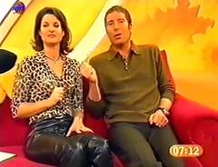 MarleneLufen_02377 (gitblp) Tags: leather leder cuir cuero pants trousers jeans sexy shiny marlene lufen