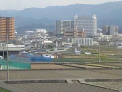Hineno agriculture (seikinsou) Tags: japan spring haruka train jr railway kyoto kix kansai airport hineno kankuhinenostationhotel golf cage agriculture