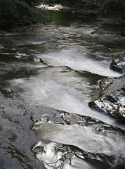 Silver Flow (nrg_crisis) Tags: dingmans creek poconos pennsylvania longexposure nikond3300