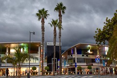 The Mall (Nige H (Thanks for 6.5m views)) Tags: shoppingcentre shoppingmall plazadelduque shops costaadeje tenerife trees palmtrees